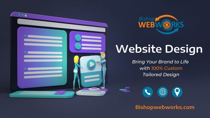 Unique Website Design for Better Identity