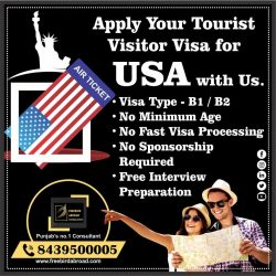 Apply your Tourist Visitor Visa With Freebird Abroad Consultants