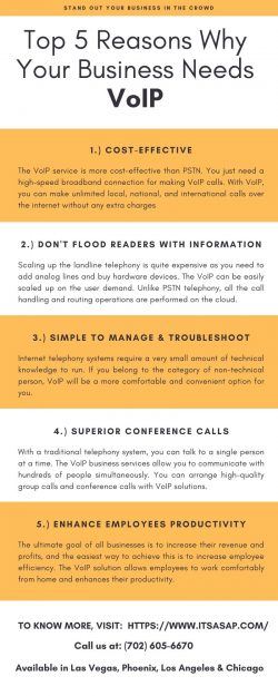 Top 5 Reasons Why Your Business Needs VoIP