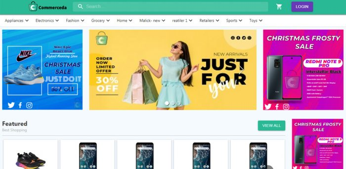 NODEJS Ecommerce Full Source Code and FREE APP Available