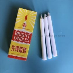 paraffin wax africa white bright candle holy brand supplier