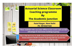 Actuarial Science Classes by Best Actuarial Science Institute- The Academic Junction