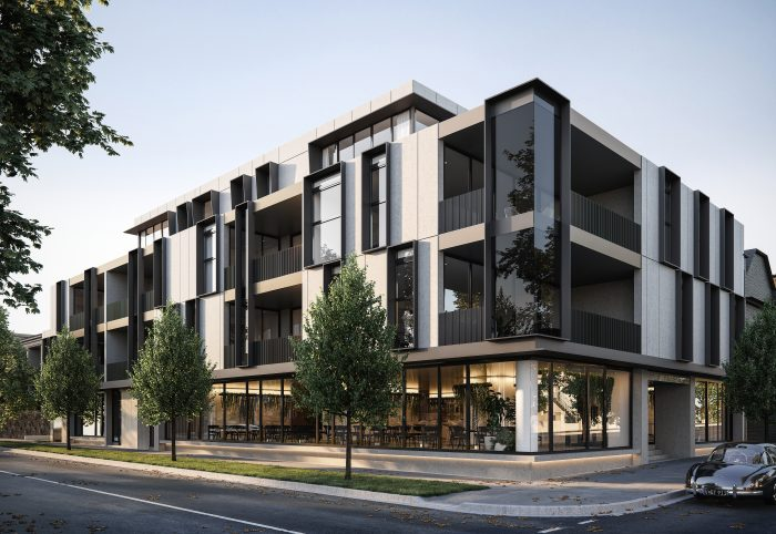 Architecture & Design Innovation with this Sustainable apartment development in Glen Iris, M ...