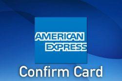 Americanexpress.com/confirmcard – Confirm you American Express Card Now