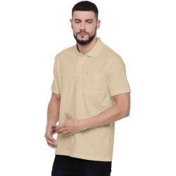 POLO COLLAR T-SHIRT- BEACH