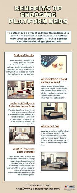 Benefits Of Choosing Platform Beds