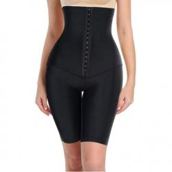Women waist trainer body shaper shorts hi-waist shapewear pants tummy control