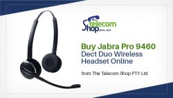 Buy Jabra Pro 9460 Dect Duo Wireless Headset Online from The Telecom Shop PTY Ltd