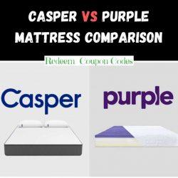 Casper vs Purple Mattress – Select The Best One