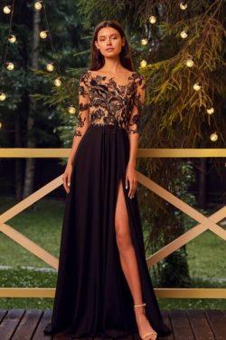 Designer Aiballkleider Schwarz | Abendkleider Lang Günstig