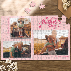 Custom Photo Jigsaw Puzzle Best Grandma Ever Best Indoor Gifts 35-1000 Pieces