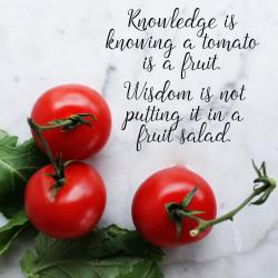 Tomatoes Are Fruits – John Deschauer