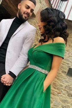 Elegante Abendkleider Grün | Abiballkleider Lang Günstig