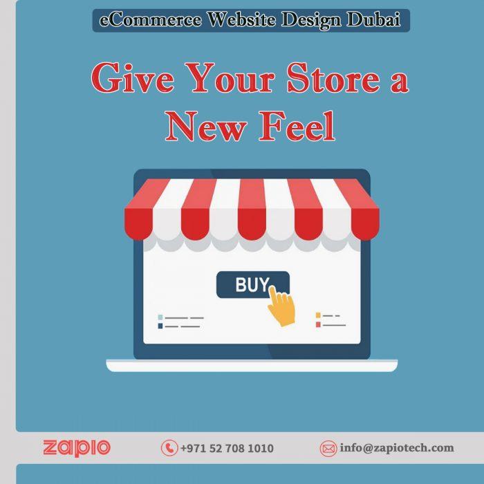 eCommerce Website Design Dubai