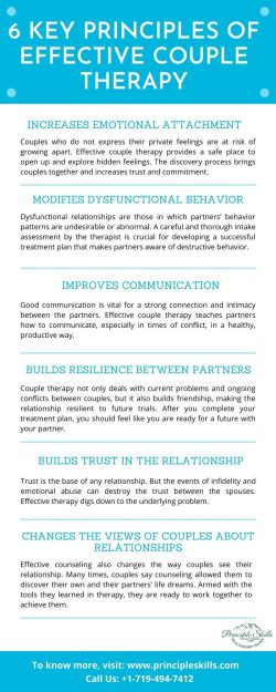 6 Key Principles Of Effective Couple Therapy
