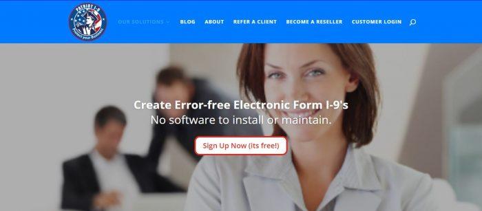 Form i-9 management software