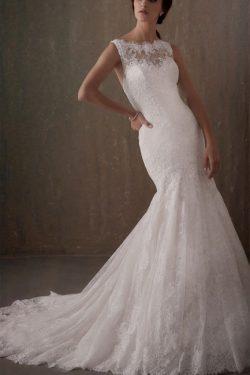 Brautkleider Meerjungfrau Spitze | Elegante Hochzeitskleider