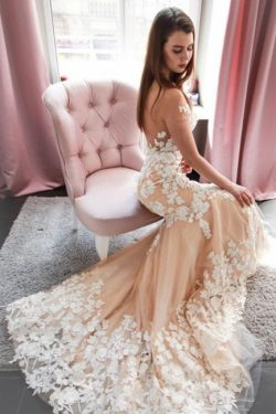 Schöne Hochzeitskleid Meerjungfrau | Brautkleider Mit Spitze