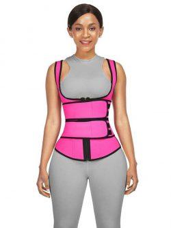 FeelinGirl Neoprene Cami Shaper Double Compression Waist Trimmer Vest