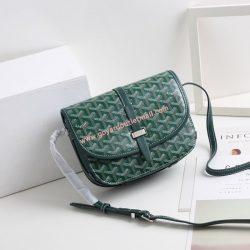 Goyard Goyardine Belvedere Small Messenger Bag Green