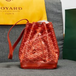 Goyard Goyardine Petit Flot Bucket Bag Orange