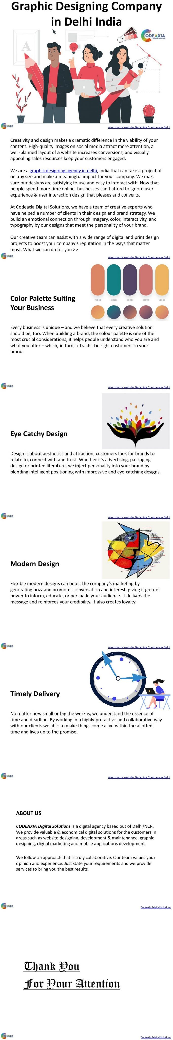 Graphic Designing Company in Delhi, India
