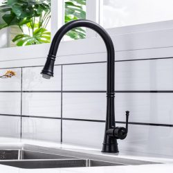 Stylish Black Kitchen Faucets Ever For Your Kitchen – WOWOW FAUCET