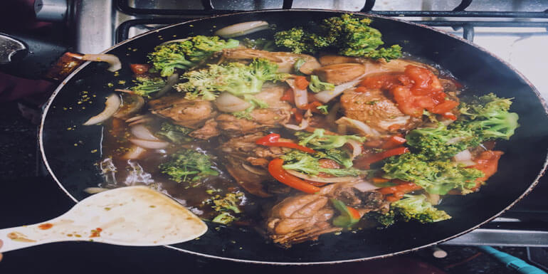 Cook Stir Fry in a Wok: A Great cooking Process