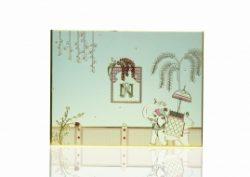 KNZMY102 – The Dignified Designer Super Premium Wedding Invitation Card