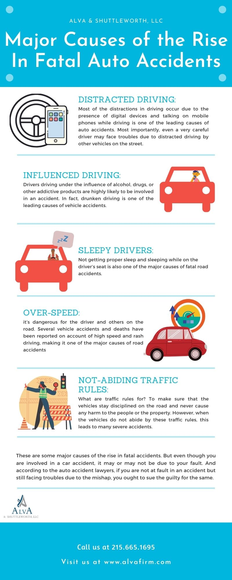 Major Causes of the Rise In Fatal Auto Accidents