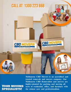 Get The Experienced Removalists in Melbourne at affordable prices