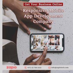 Mobile App Development Company Dubai | Zapio Technology