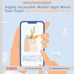 Mobile App Development Company Dubai | Zapio Technology