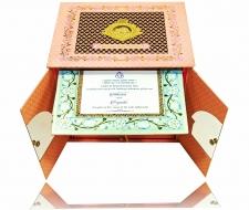 Pink Mini Temple Laser Cut MDF Board Card – KNKUP023