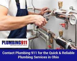 Contact Plumbing 911 for the Quick & Reliable Plumbing Services in Ohio