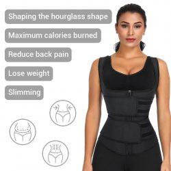 Plus Size Waist Trainer Vest   Double Belt Waist Trainer   FeelinGirl