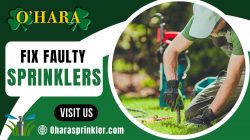 Professional Sprinkler Repairs & Installations