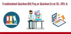 How do I fix Quicken error code ol-393-a?