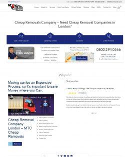 Removal companies near me London