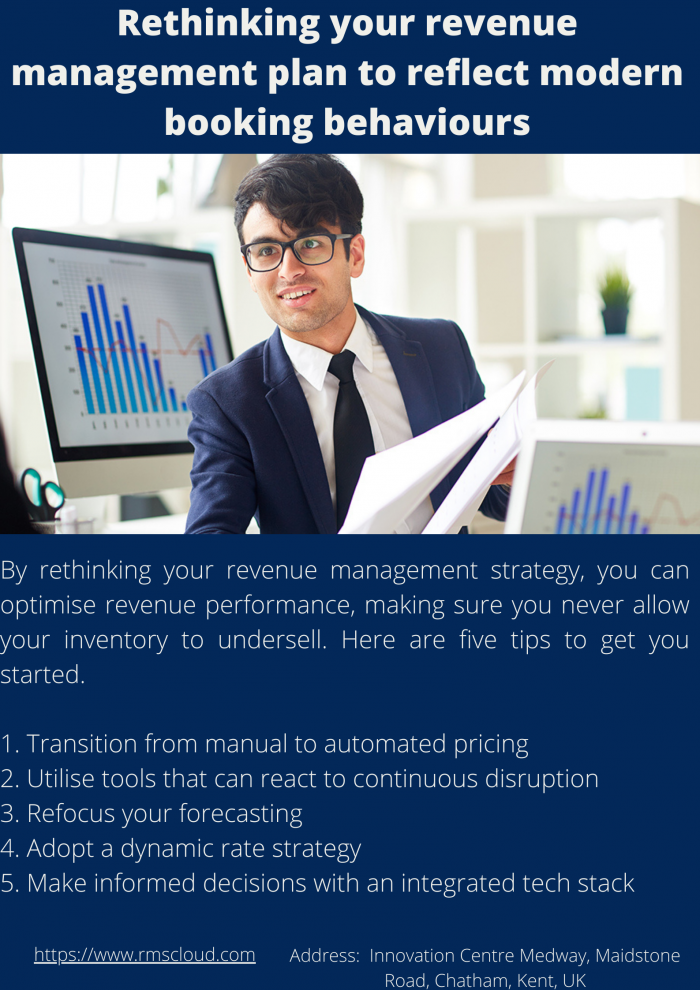 Rethinking your revenue management plan to reflect modern booking behaviours