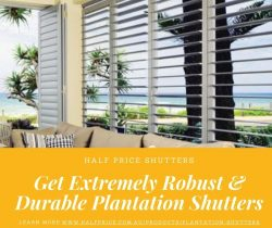 Robust & Durable Plantation Shutters