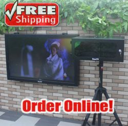 Enjoy your outdoor & waterproof TV