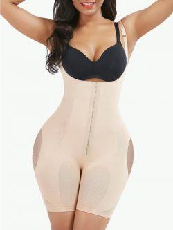 Sculptshe Seamless Tummy Control Full Body Shaper