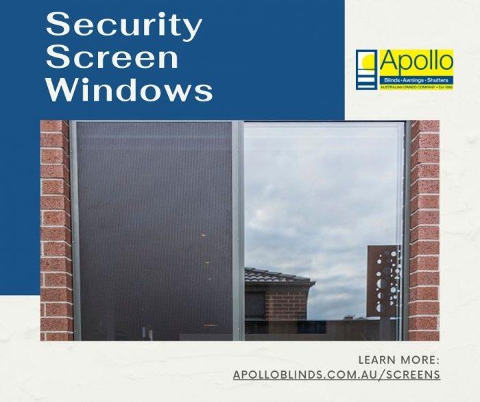 Security Screen Windows in Australia