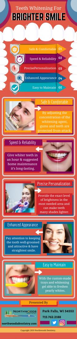 Shining Smile with Teeth Whitening
