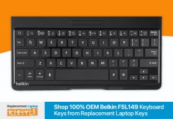 Shop 100% OEM Belkin F5L149 Keyboard Keys Online from Replacement Laptop Keys