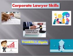 Skills Required For Corporate Lawyer | Franklin I. Ogele