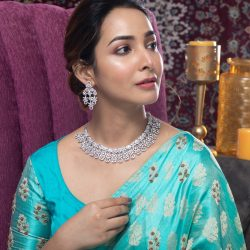 Buy the cz jewellery necklace set at best price |Tarinika