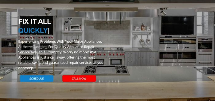 Subzero refrigerator repair in Costa Mesa