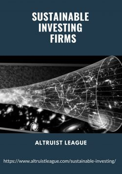 Sustainable Investing Firms – Altruist League